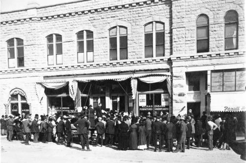 Hasenbank Furniture Store, Alma, Kansas - Page
