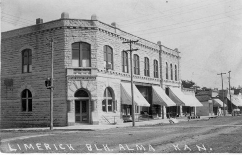 Limerick Block, Alma, Kansas - Page