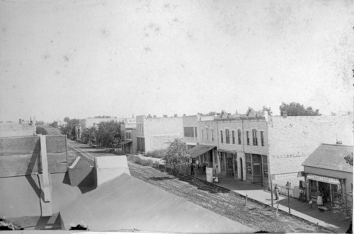 East side of 200 block of Missouri Street, Alma, Kansas - Page