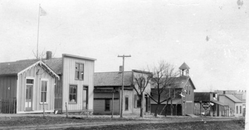 West Third Street (then Main Street), Alma, Kansas - Page
