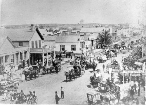 Parade, Missouri Street, Alma, Kansas - Page