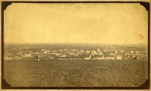Early view of Eskridge, Kansas - Page