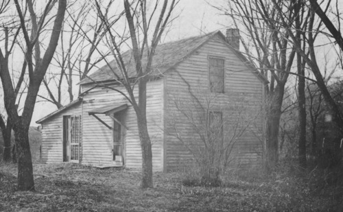 Jehu and Mary Hodgson home located southwest of Harveyville cemetery - Page