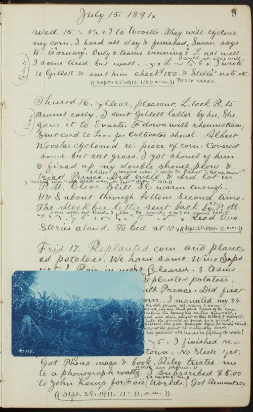 Samuel Reader's diary, volume 13 - Page