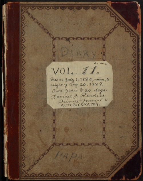 Samuel Reader's diary, volume 11 - Page