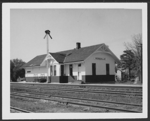 Union Pacific Railroad Company depot Rossville, Kansas - Page