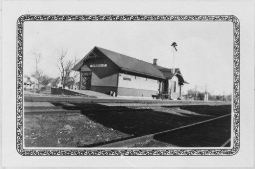 Union Pacific Railroad Company depot, Rossville, Kansas - Page