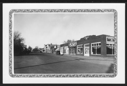 Main Street in Rossville, Kansas - Page