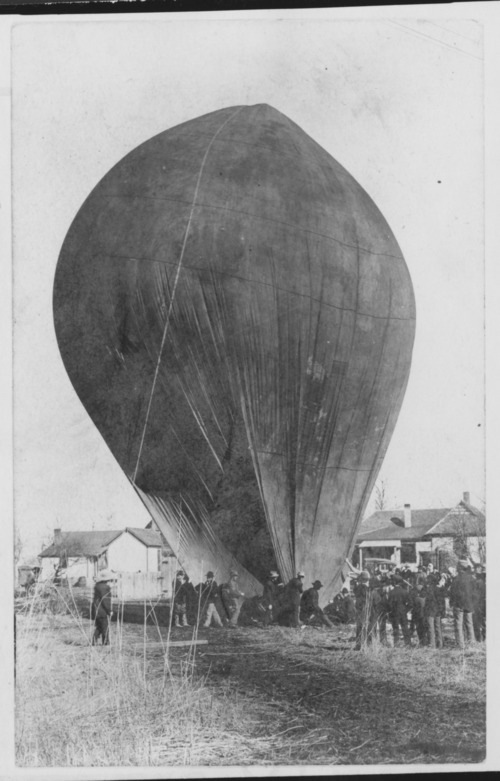 Balloon ascension in Rossville, Kansas - Page