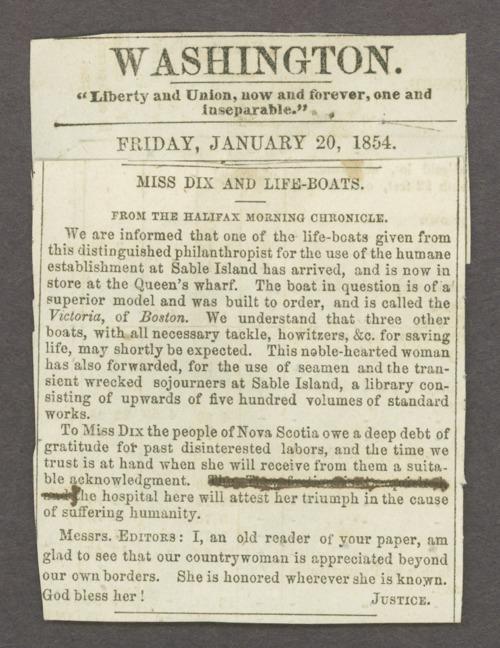 Dorothea Dix correspondence - Page