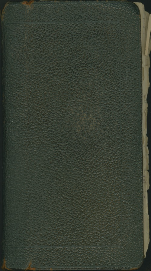 William Allen White address book - Page