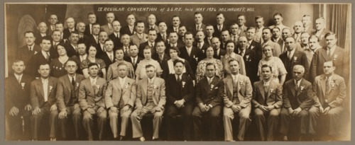 Slovenska Svobodomiselna Podporna Zveza convention held in Milwaukee, Wisconsin - Page