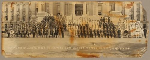 Kansas and Oklahoma Modern Woodmen of America at Camp Walker in Topeka, Kansas - Page