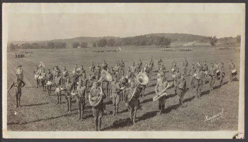 Army band at Fort Leavenworth, Kansas - Page
