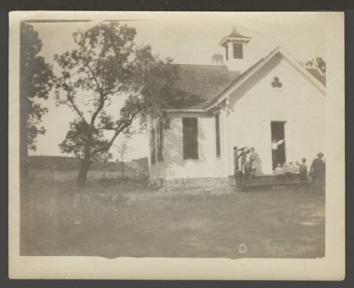 School possibly near Goshen, Kansas - Page