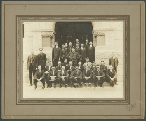 World War I inductees at Clay Center, Kansas - Page