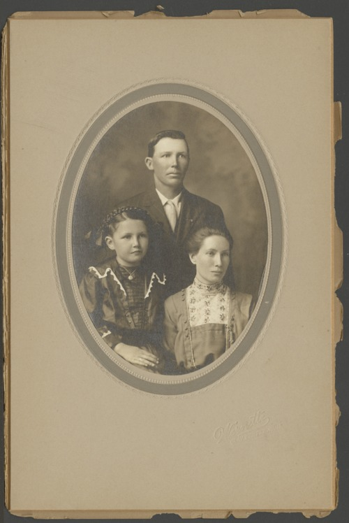Harry Owen, Cecil Newton Owen, and Ellen Owen - Page