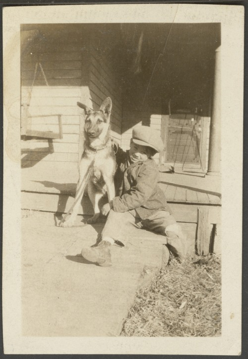 Unidentified children with dogs - Page