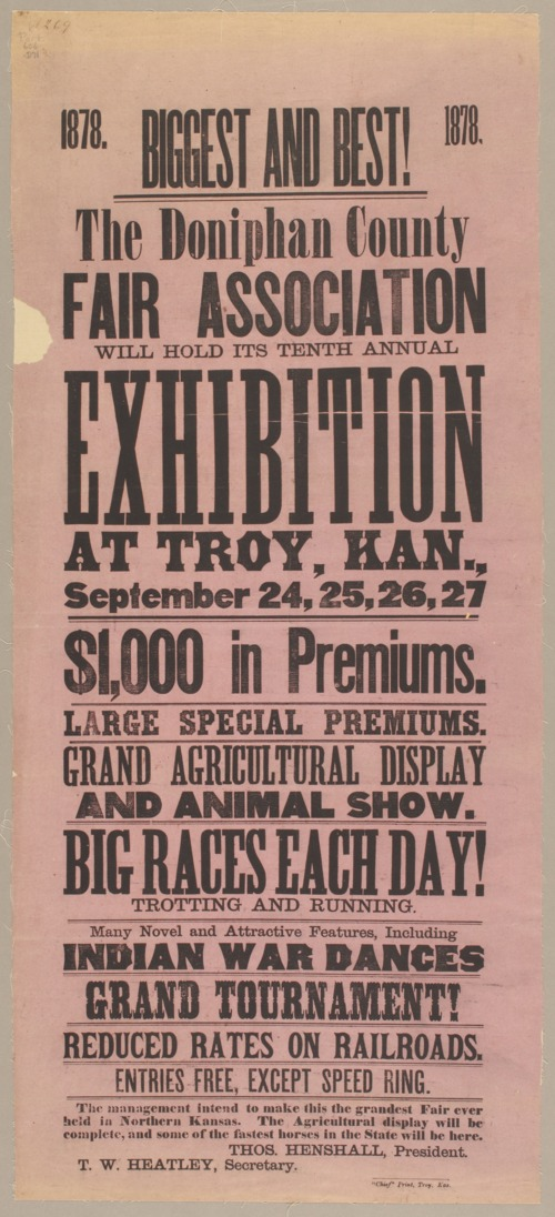 Biggest and best! The Donniphan County Fair Association will hold its tenth annual exhibition - Page