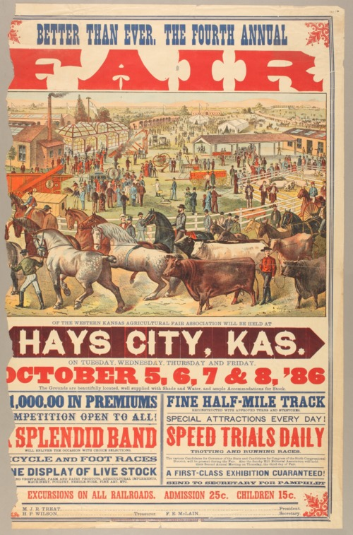 Better than ever. The fourth annual fair of the Western Kansas Agricultural Fair Association - Page