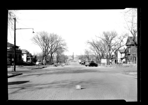 Homes and businesses in the area near the future site of the Topeka Boulevard bridge in Topeka, Kansas - Page