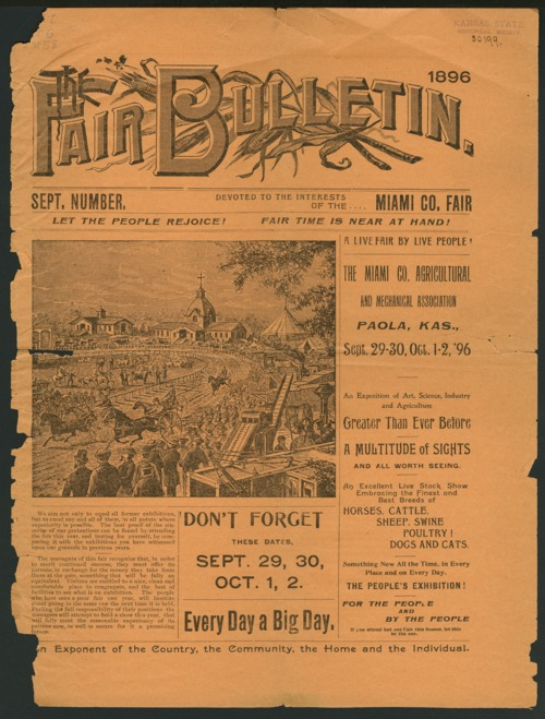 Fair bulletin - Page