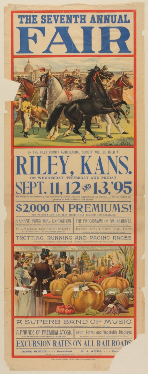 The seventh annual fair of the Riley County Agricultural Society - Page