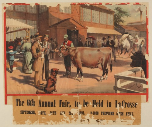 The 6th annual fair to be held in LaCrosse, Kansas - Page