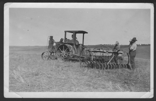 Planting equipment on Elmer Nicholson's farm near Jennings, Kansas - Page