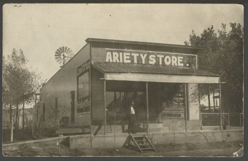 Variety store in Jennings, Kansas - Page
