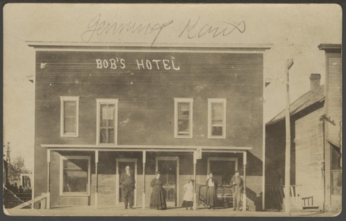 Bob's Hotel in Jennings, Kansas - Page