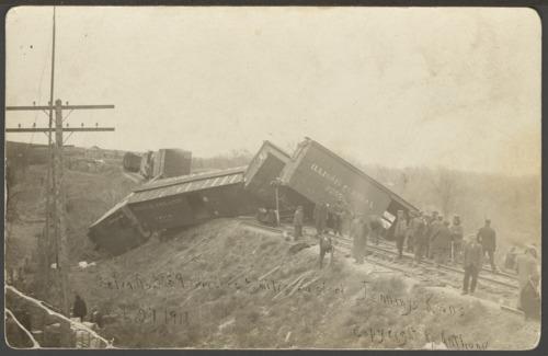Train derailment near Jennings, Kansas - Page