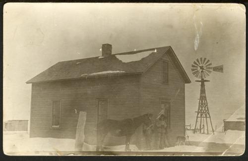 Arthur Alexander and Christena Randall's farmhouse in Decatur County, Kansas - Page