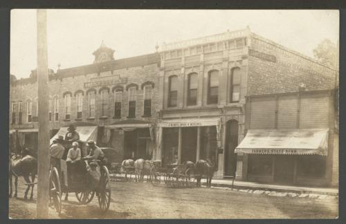 Street scene, Wamego, Kansas - Page