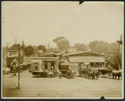 Gillette & Nicholson lumber yard, Topeka, Kansas - Page