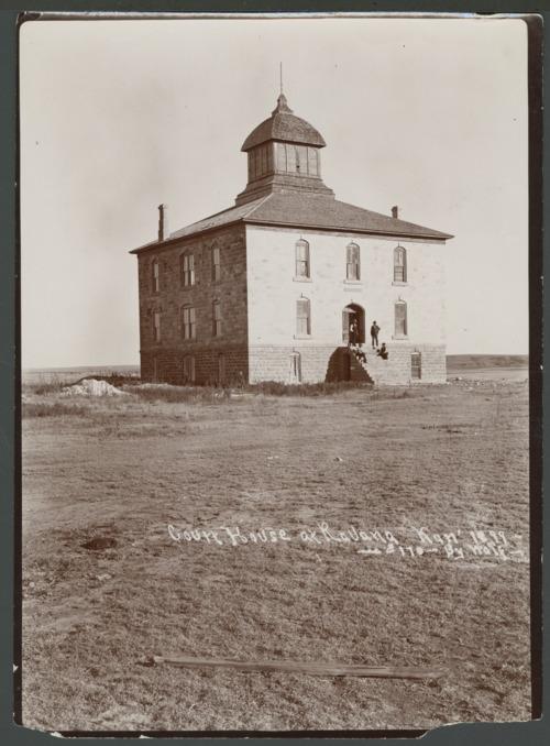 Courthouse in Ravanna, Kansas - Page