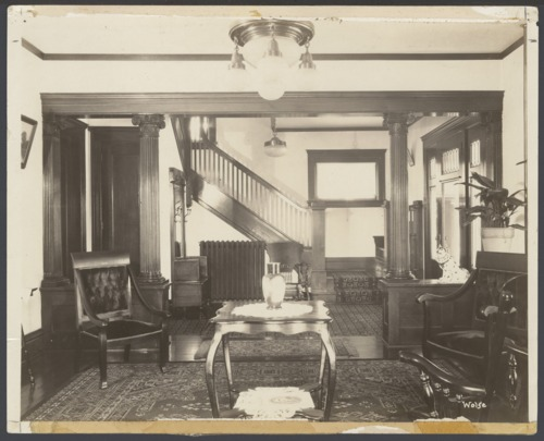 Reception hall, Menninger Sanitarium in Topeka, Kansas - Page