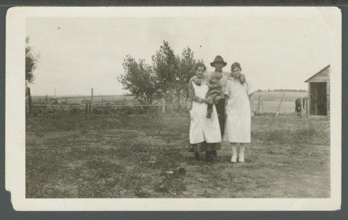Christena, Velda, Casey and Gladys Nicholson in Decatur County, Kansas - Page