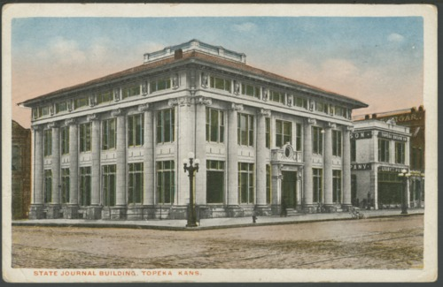 State Journal newspaper building in Topeka, Shawnee County, Kansas - Page