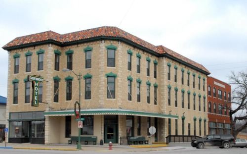 Greenwood Hotel in Eureka, Kansas - Page