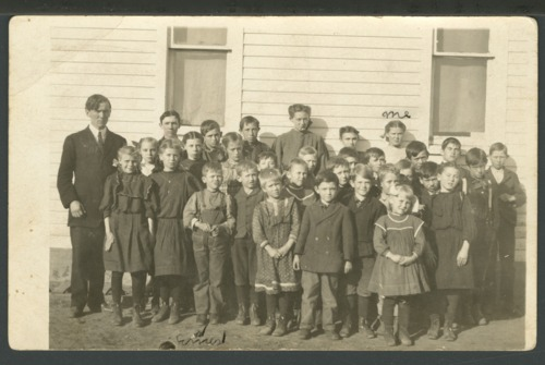Rural school in Sumner County, Kansas - Page