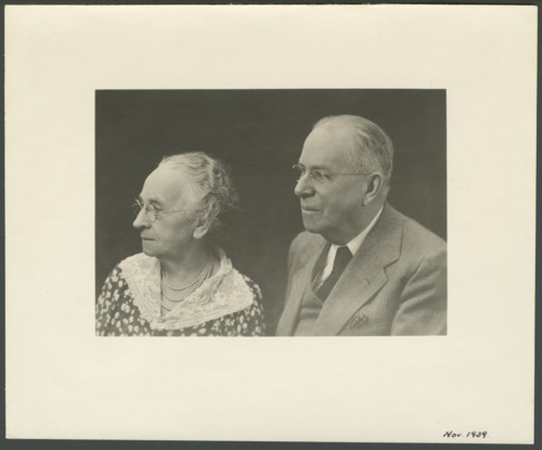 Dr. Charles F. and Flo Menninger in Topeka, Kansas - Page