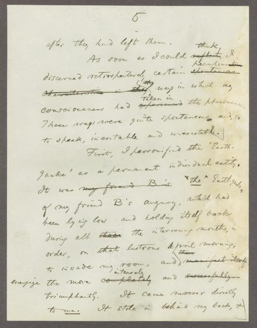 William James (psychologist) correspondence - Page
