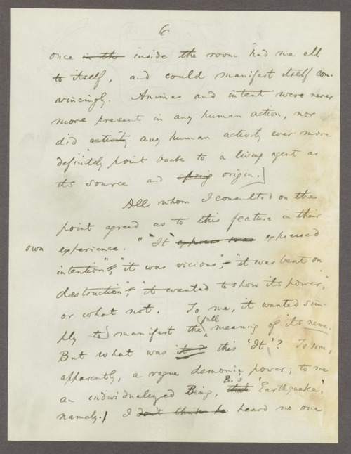 William James (psychologist) correspondence - Page