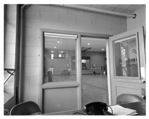 Interior of Hopkins Gymnasium, Menninger Clinic, Topeka, Kansas - Page