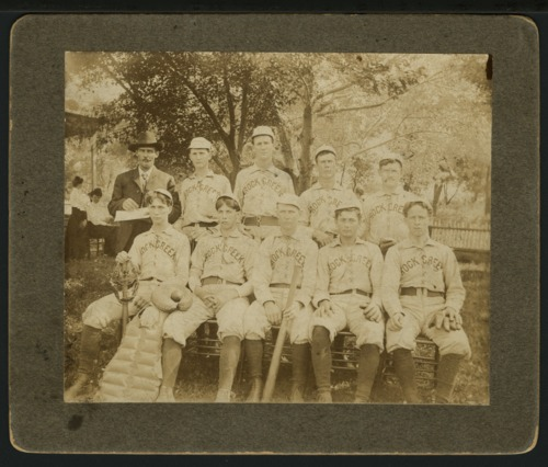 Baseball team, Rock Creek, Kansas - Page