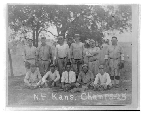 Baseball team, McLouth, Kansas - Page