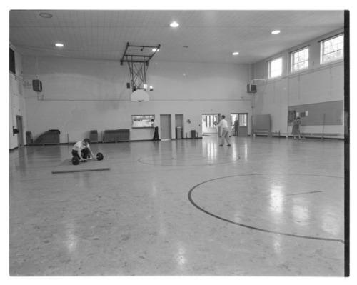 Hopkins gymnasium, Menninger Clinic, Topeka, Kansas - Page
