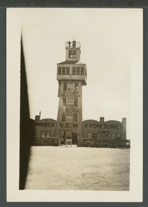Wonder view tower near Genoa, Colorado - Page