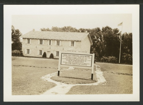 First Territorial Capitol building at Fort Riley, Kansas - Page